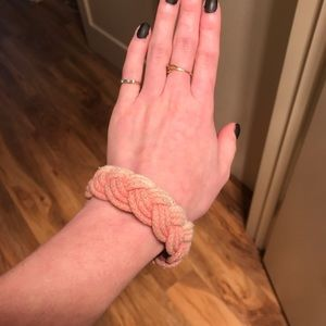 PacSun Jewelry - Faded Pink Braided Rope Bracelet (PacSun)
